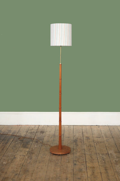 Teak Danish Floor Lamp