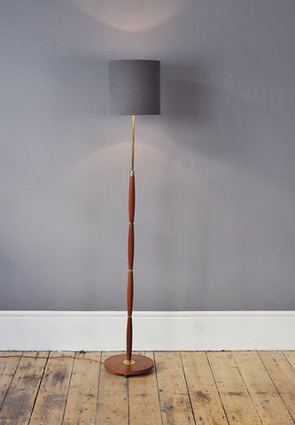 Curved Danish Floor Lamp - Forest London