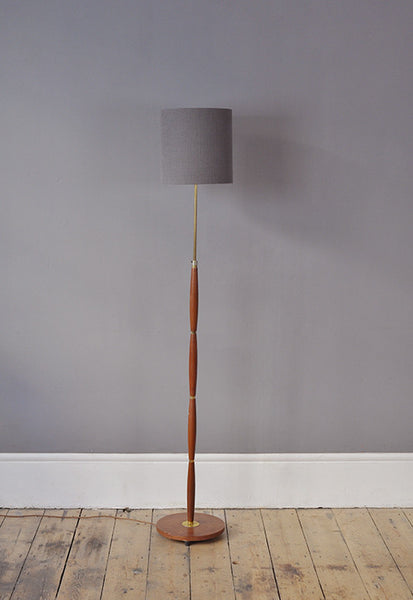 Curved Danish Floor Lamp