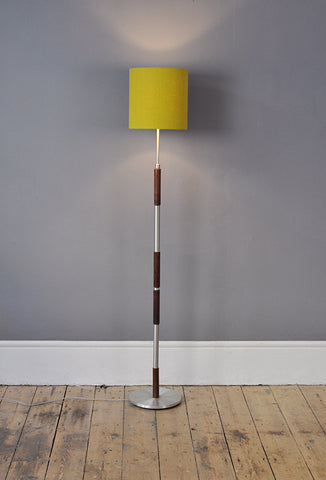 Distinctive Rosewood Floor Lamp - Forest London