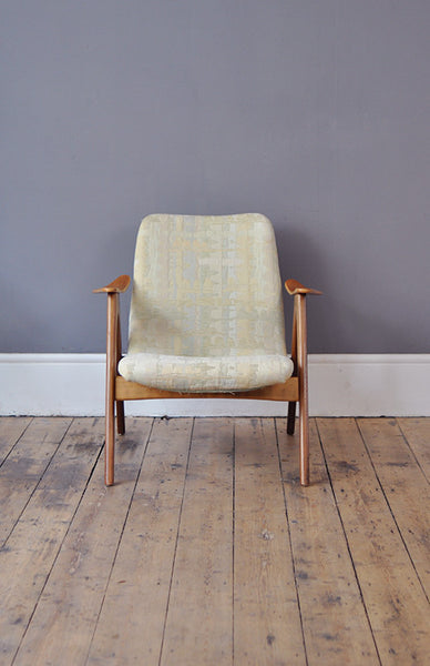 Dutch Low Back Armchair, Part of a Set