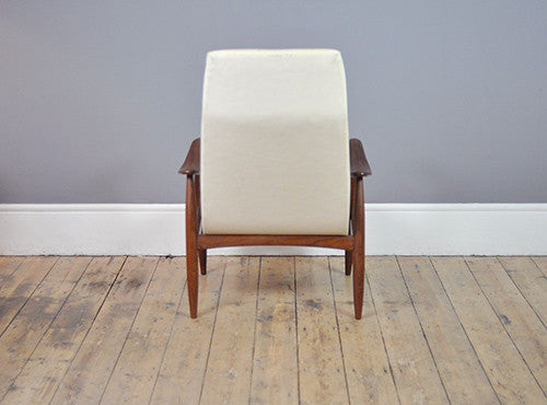 Curling High Back Armchair