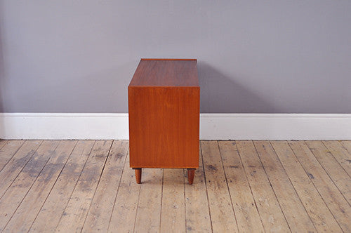 Wide Danish Chest Of Drawers - Forest London