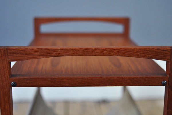 Exceptional Suede Magazine Rack - Forest London
