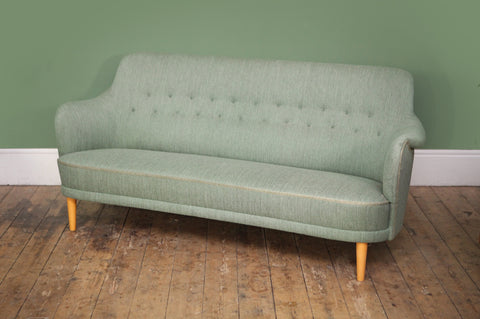 ON SALE // Carl Malmsten 'Samsas' Sofa - Forest London