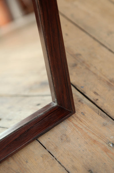 Danish Rosewood Mirror