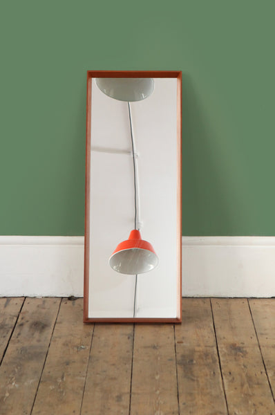Minimalist Danish Teak Mirror - Forest London