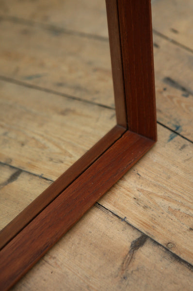Long Danish Teak Mirror