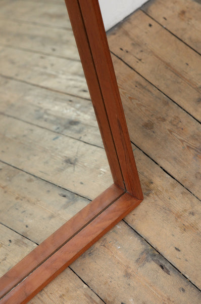 Long Teak Mirror - Forest London