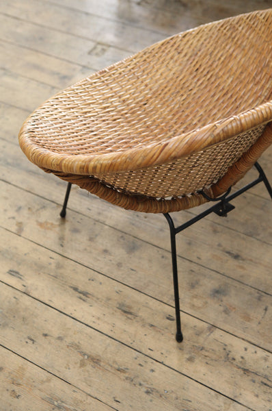 ON SALE // Cane Hoop Chair