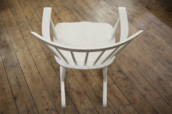 ON SALE // White Rocking Chair
