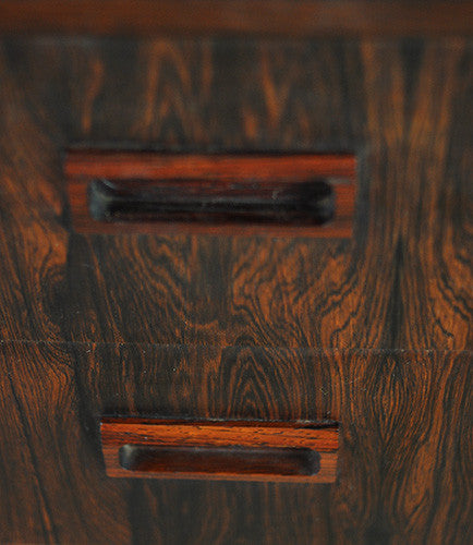 Wide Rosewood Chest of Drawers
