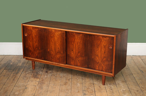 Striking Danish Rosewood Sideboard