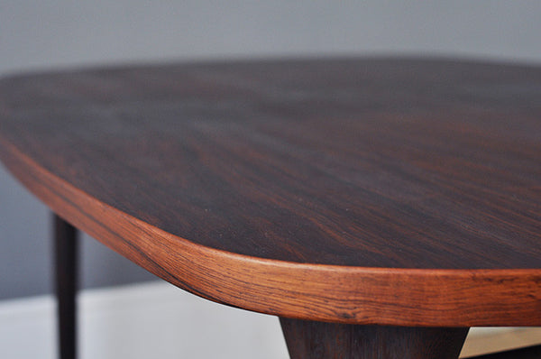 Oval Rosewood Table