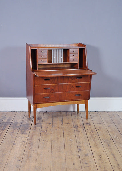 Quirky Danish Secretary Desk