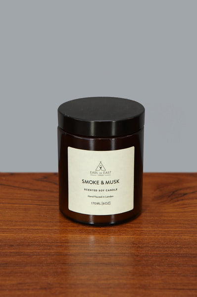 Medium Smoke and Musk Candle by Earl of East