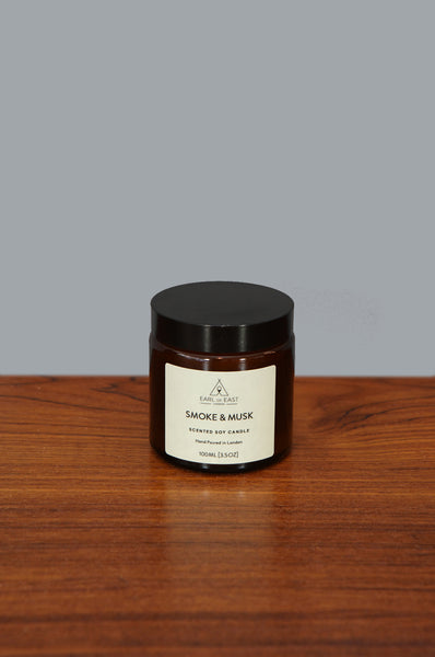 Small Smoke and Musk Candle by Earl of East - Forest London