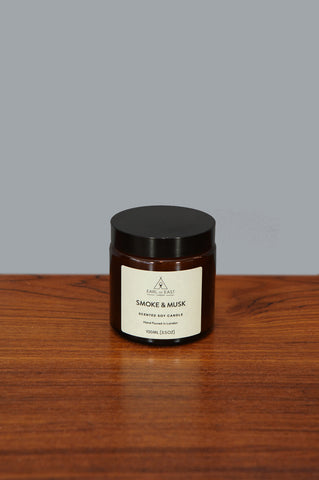 Small Smoke and Musk Candle by Earl of East