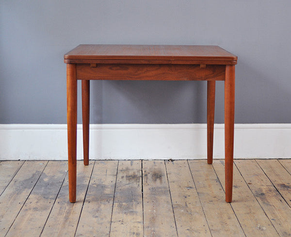 Extendable Square Dining Table