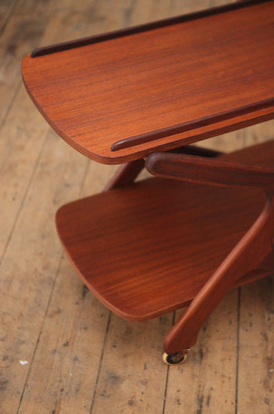ON SALE // Dutch Teak 1960s Trolley