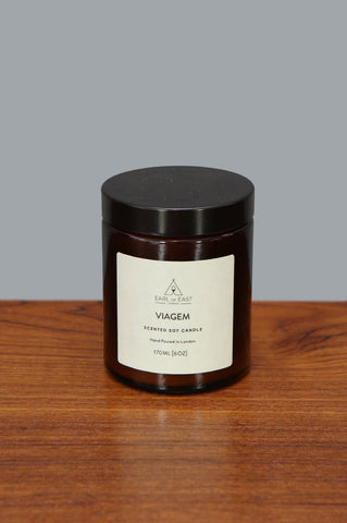 Medium Viagem Candle by Earl of East - Forest London