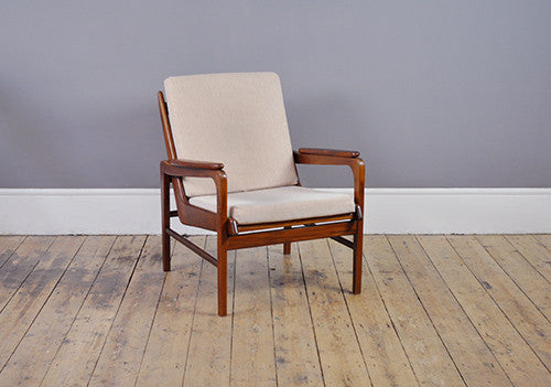 Danish Low Back Armchair