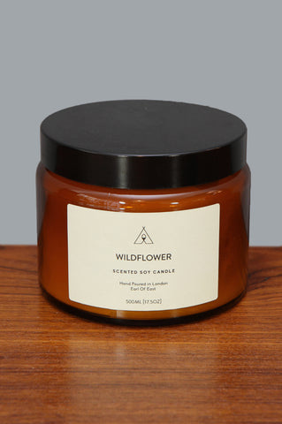 Large Wildflower Candle by Earl of East - Forest London
