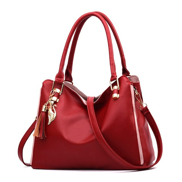 9629eba0696 Women Messenger 2019 New Tide Female Top-handle Bag Girls Simple Shoulder  Bags Women Handbags for Lady Totes Fashion Party L37