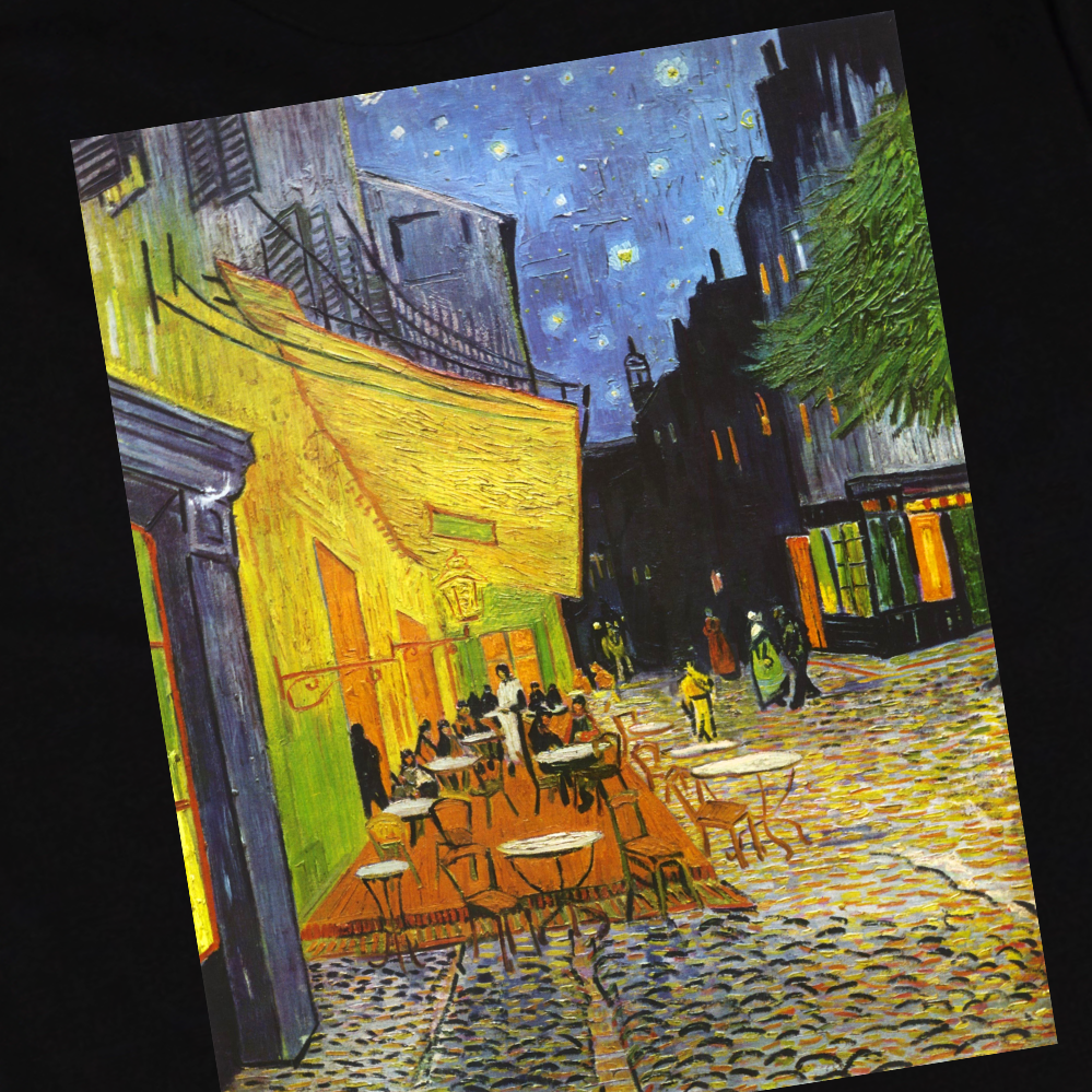 Van Gogh City Lights Tee