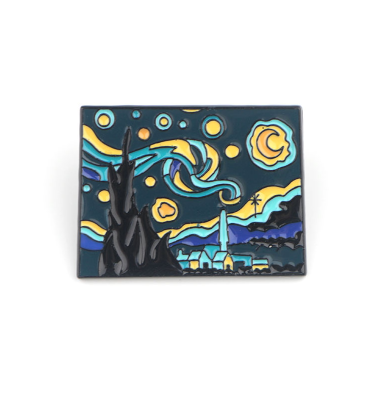 The Starry Night Pin - Limited Edition