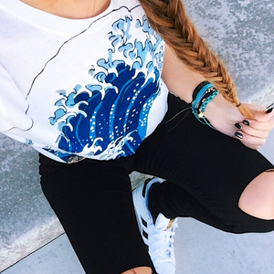 The Great Wave Tee