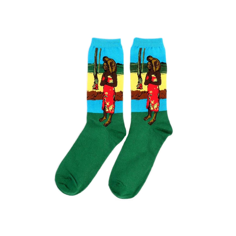 Paul Gauguin Socks