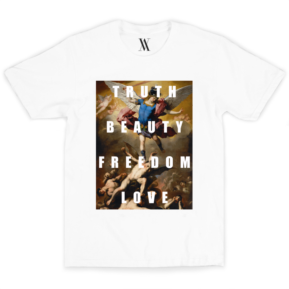 Truth Beauty Freedom Love Tee