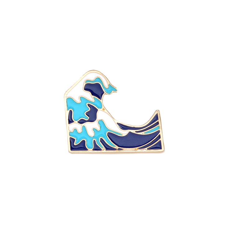 The Great Wave Pin