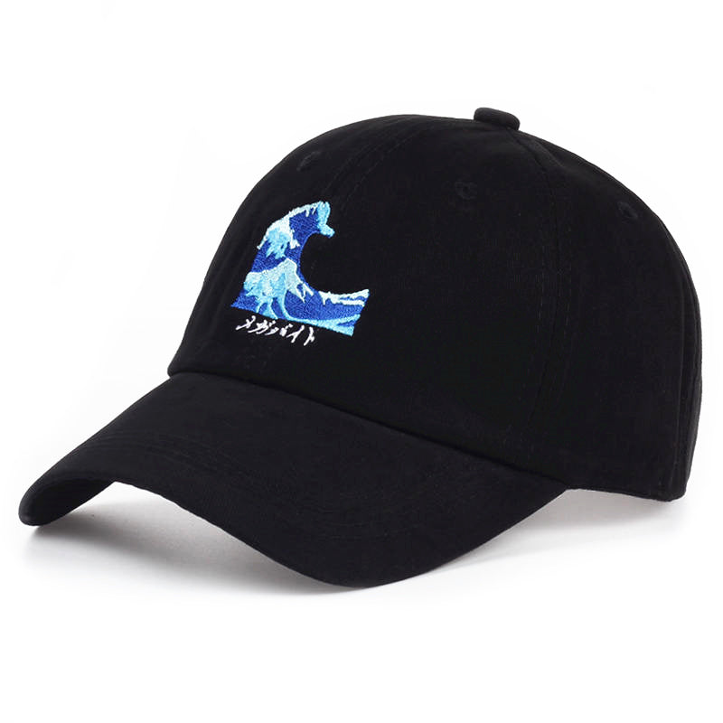 The Great Wave Caps
