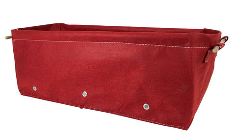 BloemBagz Fabric Raised Garden Bed Union Red Grow Bag Garden