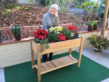 The Ultimate Gro-Matic Totally Self Watering Deck Planter System! All Western Red Cedar Construction!