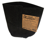 1 Gallon Black 4 to 5 Year Genuine Root Pouch Grow Bags! Bundle Of 25