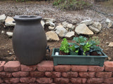 Gro-Matic Totally Automatic Self Watering Deck And Patio Planter System/ Sage Green Model 100 Deck And Patio Planter