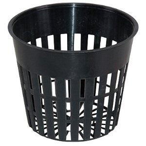 25  Hydrofarm Round Net Pots Heavy Duty, 3 Inch. Used In the Rain Gutter Grow System!