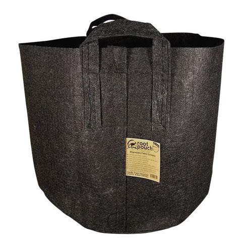 Root Pouch 30 Gallon Black With Handles, 4 to 5 Year Lifespan FREE SHIPPING TODAY!
