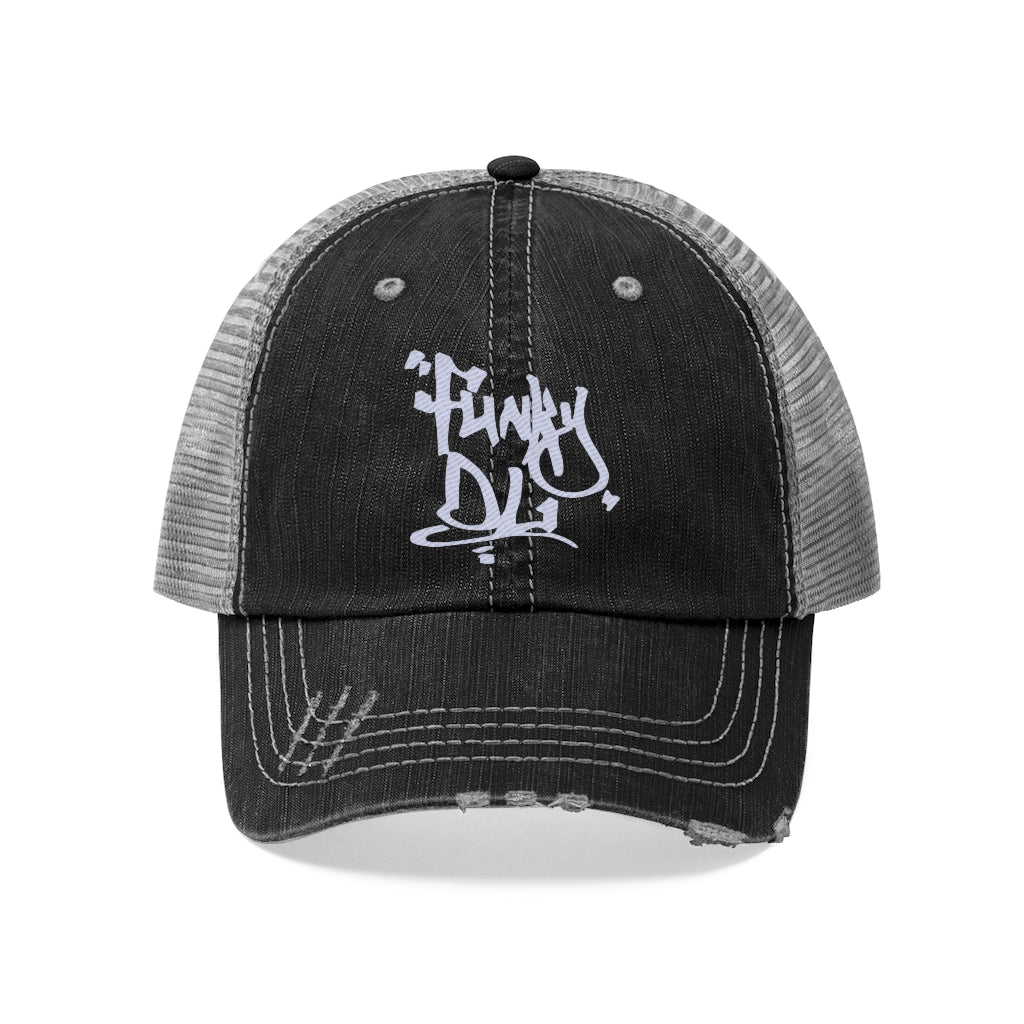 "Embroidered Trucker Cap - ""Funky DL"" Logo"