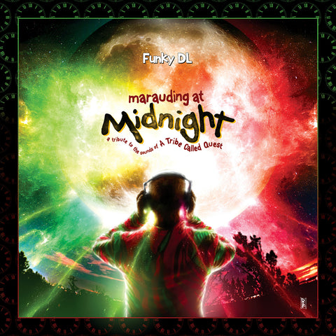//079// - Marauding At Midnight: A Tribute To The Sounds Of A Tribe Called Quest - Funky DL - CD Album