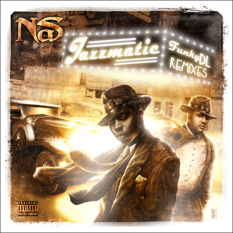 //090// - Jazzmatic - Funky DL Remixes Nas - Free CD Album*