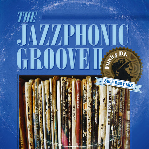 //087// - The Jazzphonic Groove Volume II - Funky DL - CD Album