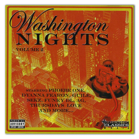//112// - Washington Nights Volume 2 - Various Artists - CD Album