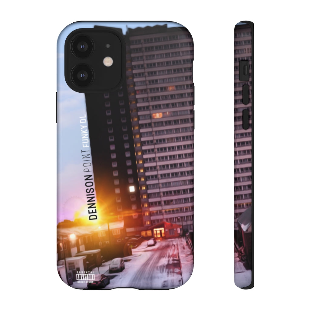 "Phone Case with ""Dennison Point"" Artwork"