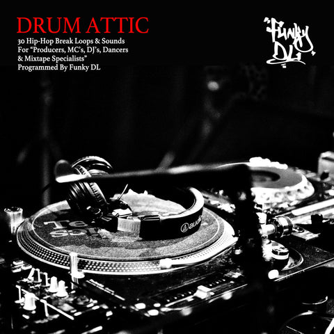 //094// - Drum Attic - Funky DL - CD Album