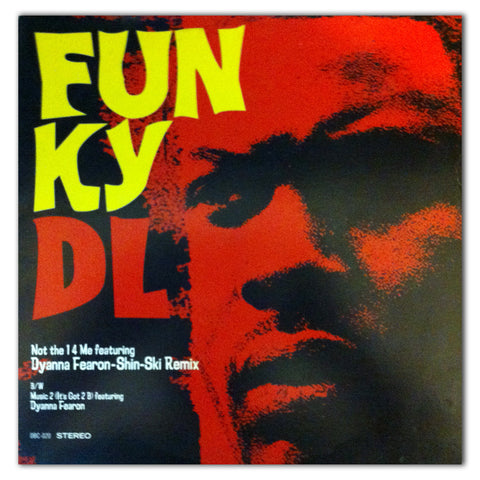 "//205// - Not The 1 4 Me - Funky DL - 12"" Vinyl (Japan Edition)"