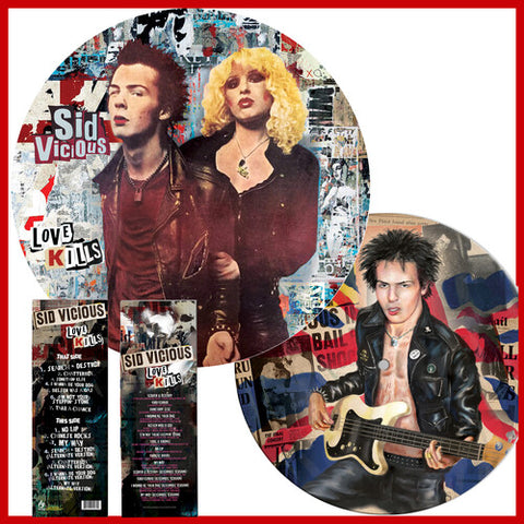 Sid Vicious - Love Kills (Picture Disc Vinyl)